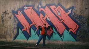"Graffiti Art in Hamburg from 1987 by Werner ""Mr.W"" Skolimowski"