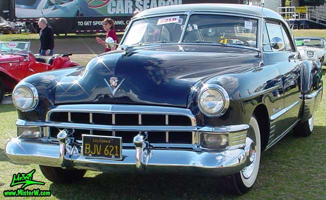 Dark Blue 1949 Cadillac