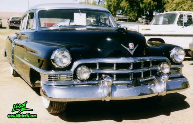 Photo of a black 1950 Cadillac Fleetwood Series Sixty Special Sedan 4 Door Hardtop at a classic car auction in Arizona. 1950 Cadillac Fleetwood Series Sixty Special Sedan 4 Door Hardtop
