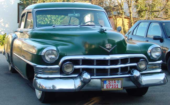 Photo of a green 1952 Cadillac Fleetwood Series 60 Special Sedan 4 Door Hardtop, provided by Chris from Starnberg, Germany. 1952 Cadillac Fleetwood Series 60 Special Sedan 4 Door Hardtop