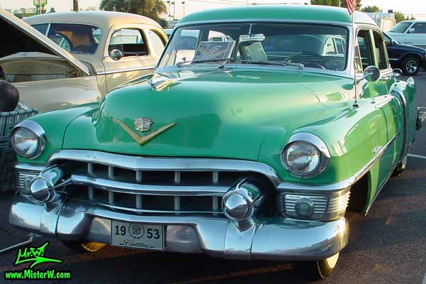 Turquoise 1953 cadillac 1953 cadillac series 62 sedan 4 for 1953 cadillac 4 door sedan