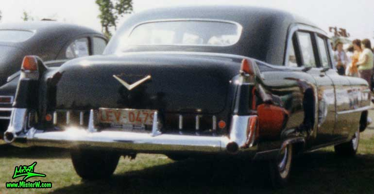 Black 1955 Cadillac Fleetwood