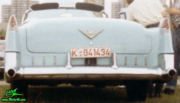 1955 Cadillac Convertible Rear Fins