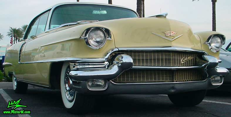 Frontview of a 56 caddy 1956 cadillac sedan classic for 1956 cadillac 4 door sedan