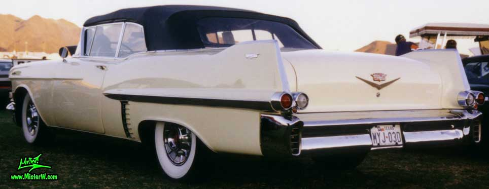 1957 Cadillac Convertible with black top