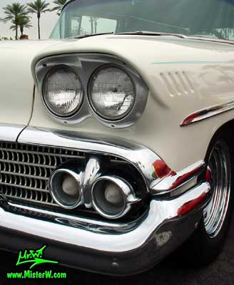1958 Chevrolet Front Lights