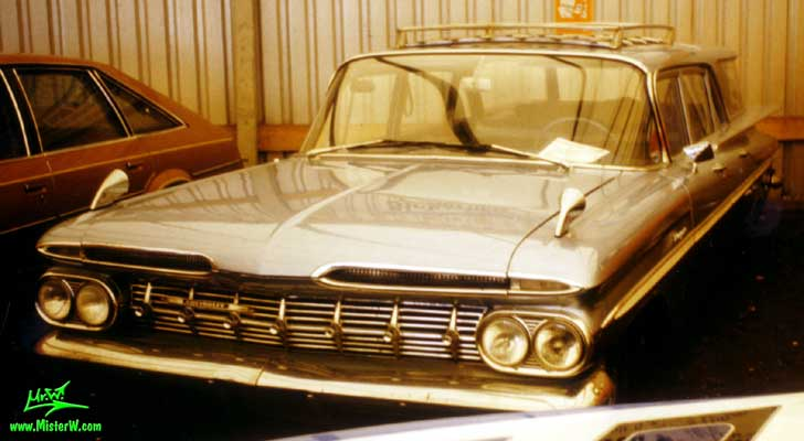 Photo of 1959 Chevrolet Station Wagon in Hamburg, Germany. 1959 Chevrolet Station Wagon