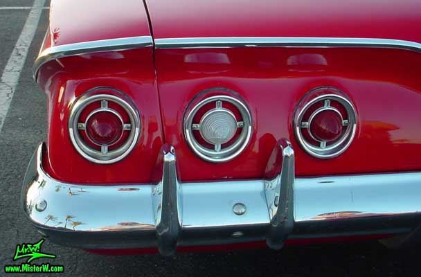 1961 Chevrolet Impala Tail Lights 1961 Chevrolet Impala
