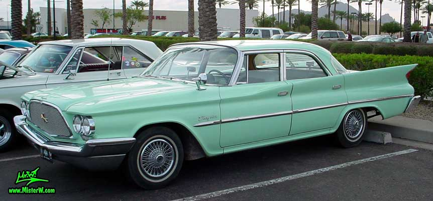 at the Scottsdale Pavilions Classic Car Show in Arizona. 1960 Chrysler