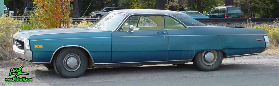 Photo of a blue 1970 Chrysler 2 Door Hardtop Coupe in Northern California. 70 Chrysler
