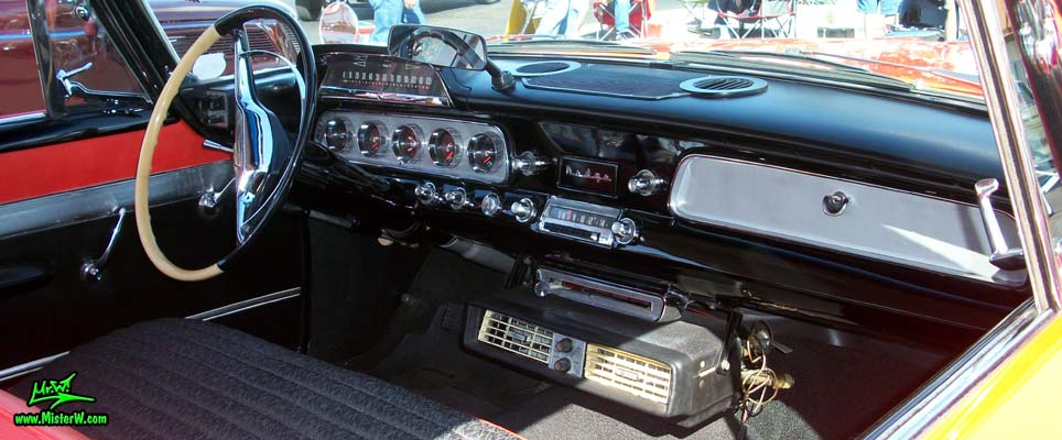 Interior Amp Dashboard Of A 58 Dodge Coronet Coupe 1958