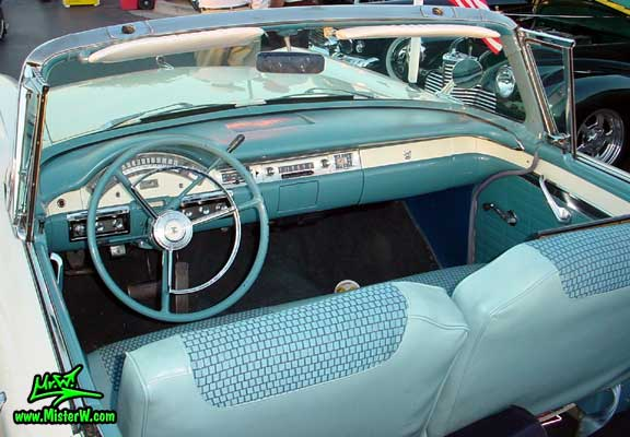 1957 Ford Dashboard 1957 Ford Fairlane Retractable