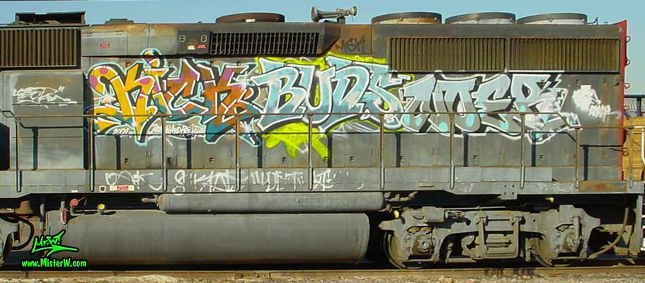 KICK BUDS NOER Kick Buds Noer Freight Train Graffiti