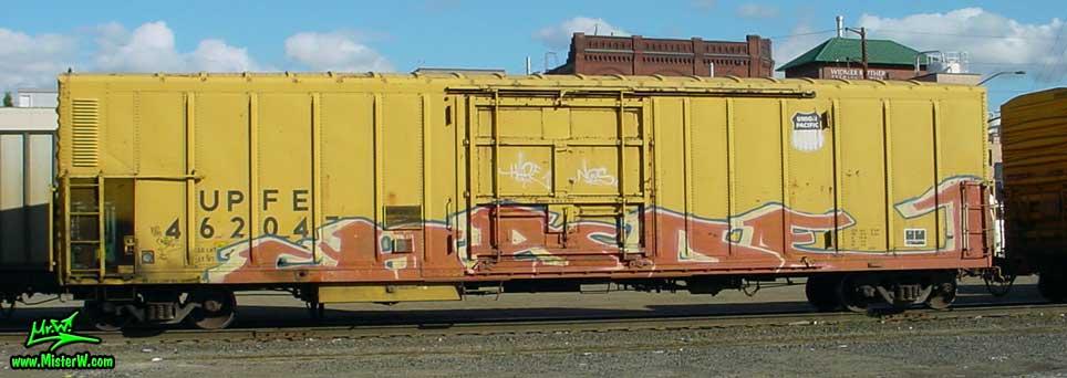 HADE Hade Freight Train Graffiti