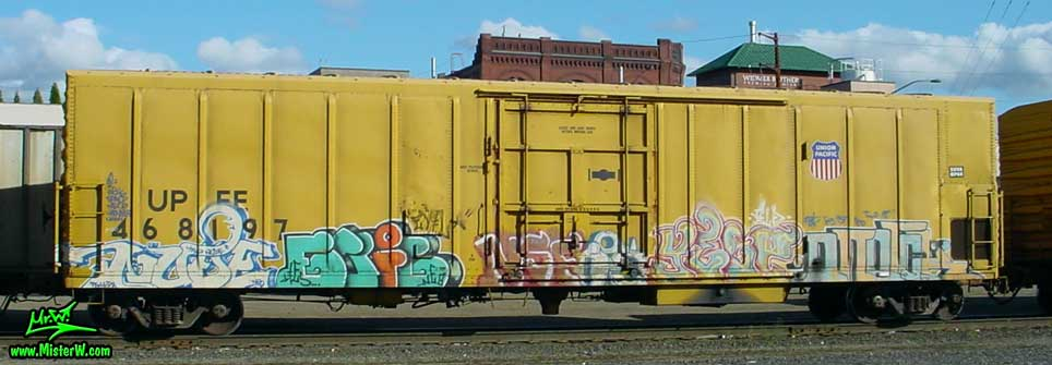 NUDE NSF YELP ONOrOK Nude NSF Yelp Onorok Freight Train with Graffiti