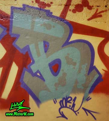 B for B.Base, C.A.C. (City Adventure Crew) Graffiti Letter B