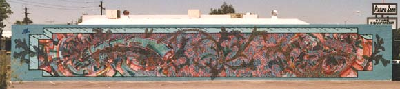 Phoenix Graffiti Wall on McDowell Road Mr.W. Graffiti in Phoenix