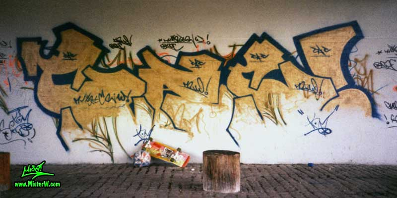 Graffiti at a Skate Park C.A.C. (City Adventure Crew)