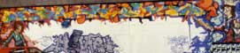 Wildstyle Graffiti Painting in Hamburg, Germany, 1989 in the Graffiti Art Photo Gallery