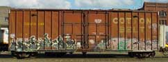 Freight Trains - Graffiti Gallery by Mr.W.