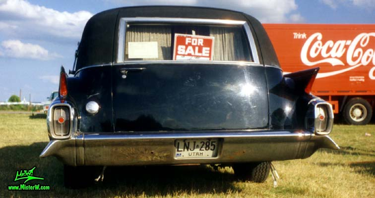 1962 Cadillac Hearse Rearview
