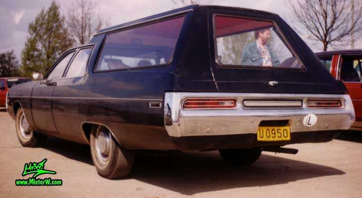 71 Chrysler Hearse Rearview | 1971 Chrysler Hearse | Hearses, Ambulances & Flower Cars Photo Gallery