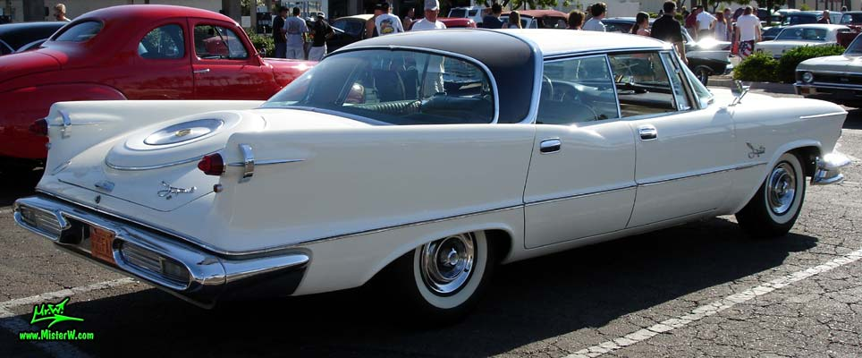 Tail Fins Of A Imperial Imperial Sedan Classic Car