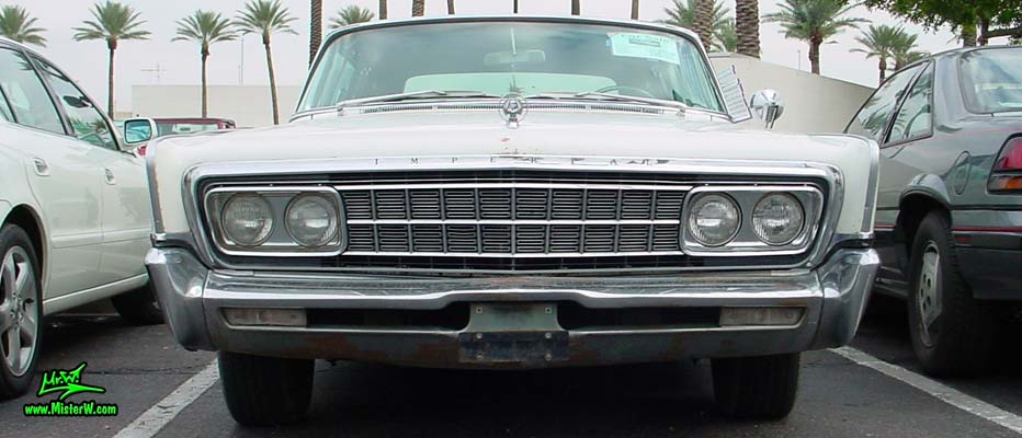 1966 Imperial LeBaron Sedan Frontview