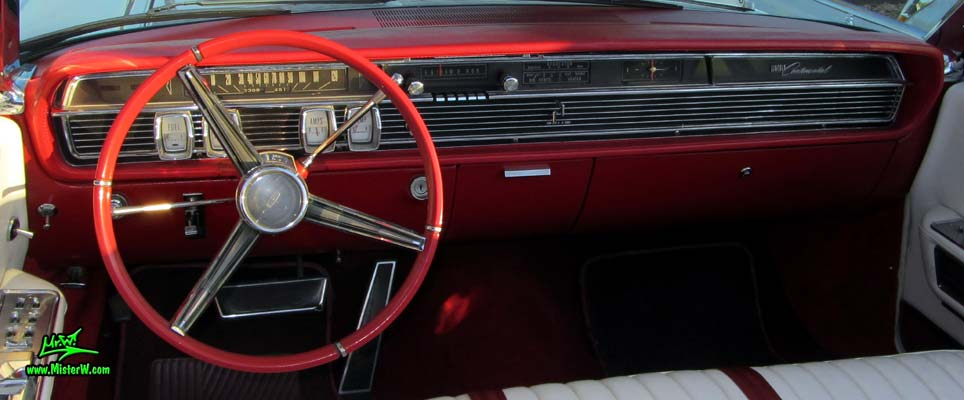 Dash Board Amp Speedometer Of A 1964 Lincoln Continental
