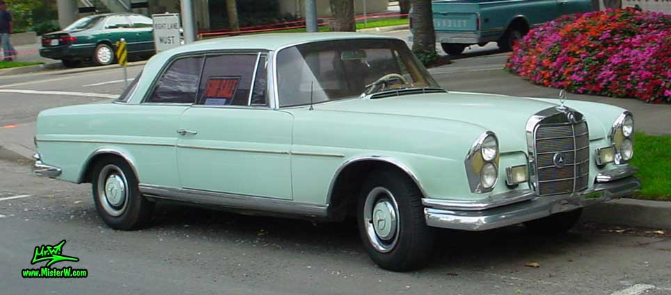 1961 - 1969 Mercedes-Benz W111 / W112 Coupe - Photography by Mr.W. - www.MisterW.com