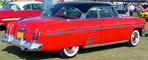 1954 Mercury Monterey Coupe Rearview