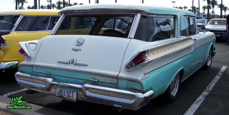 57 Mercury Voyager 2 Door Station Wagon Fins Amp Tailgate