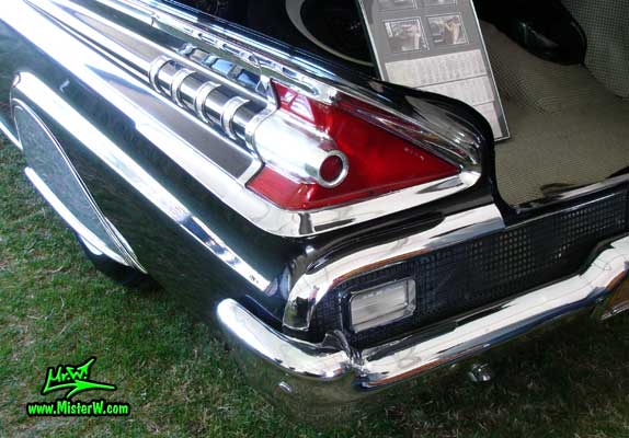 1959 Mercury Rear Light Amp Fin 1959 Mercury Montclair