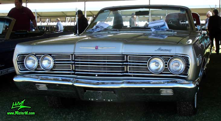 Photo of a silver 1967 Mercury 2 Door Convertible at a Classic Car Auction in Scottsdale, Arizona. 67 Mercury