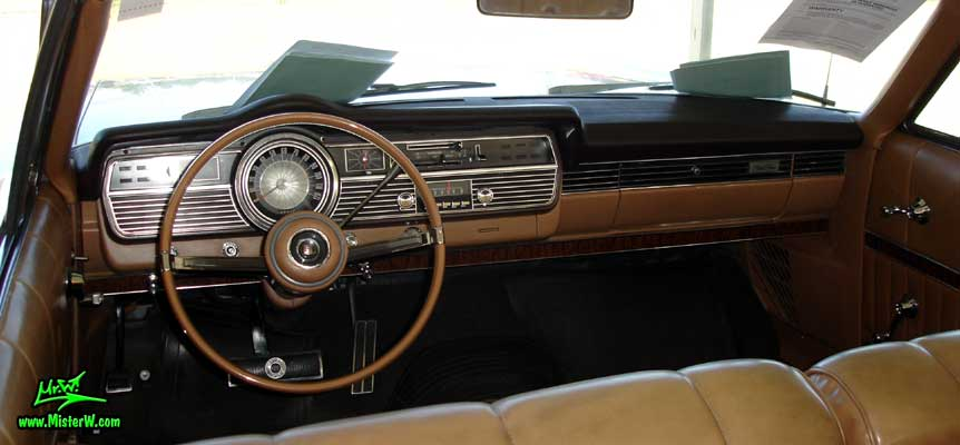 Photo of a silver 1967 Mercury 2 Door Convertible at a Classic Car Auction in Scottsdale, Arizona. 1967 Mercury Odometer
