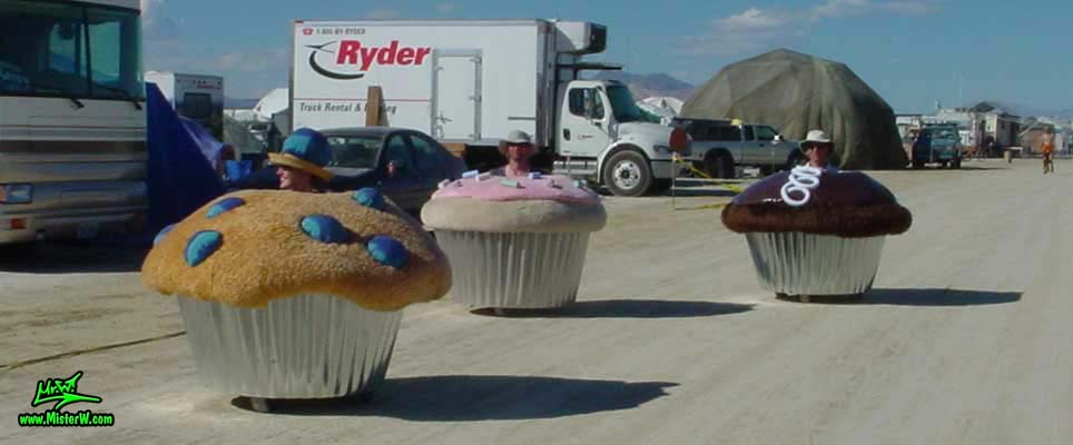 Motorized Muffin Art Car Amp Cupcake Art Cars Cupcake