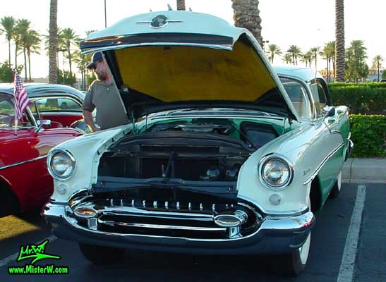 1955 oldsmobile with open hood 1955 oldsmobile sedan for 1955 oldsmobile 4 door hardtop