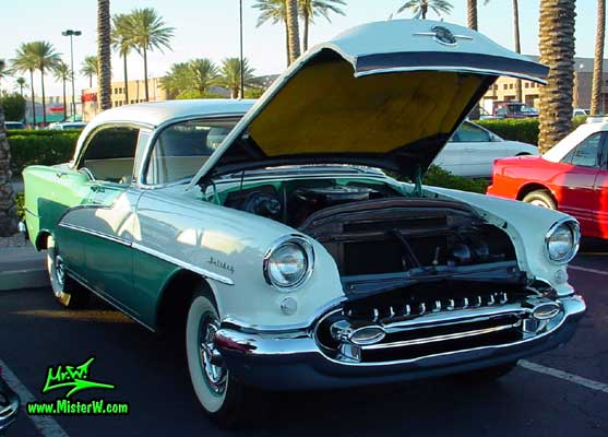 1955 oldsmobile radiator engine 1955 oldsmobile sedan for 1955 oldsmobile 4 door hardtop