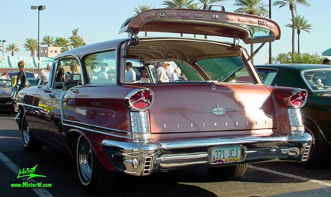 1957 Oldsmobile Station Wagon Fins