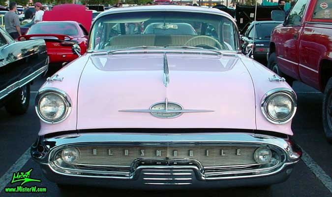 1957 Oldsmobile Frontview