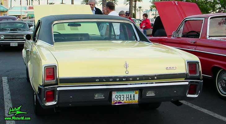 1967 Oldsmobile Rearview