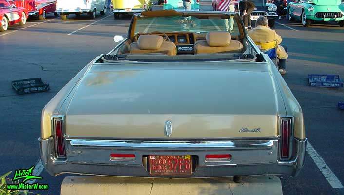 1969 Oldsmobile Convertible Rearview