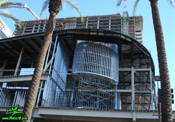 Photo of the Sheraton Phoenix Downtown construction site in August 2007 Sheraton Phoenix Downtown construction site