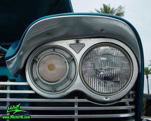 1957 Plymouth Belvedere Head Light