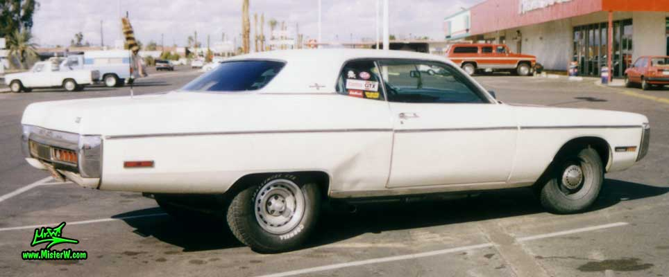 Photo of a white 1972 Chrysler Plymouth Fury 2 Door Hardtop Coupe in Phoenix, Arizona. 1972 Plymouth Fury