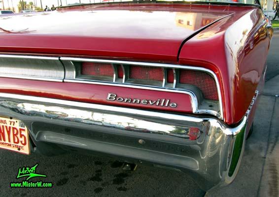 1967 Pontiac Bonneville Convertible Tail Lights