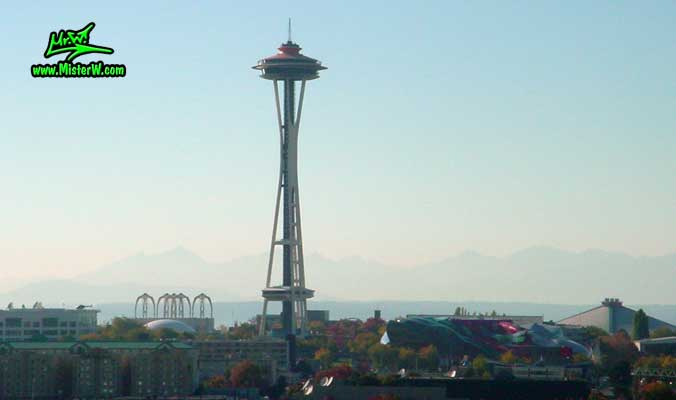 Space Needle in Seattle, Washington - Photography by Mr.W. - www.MisterW.com