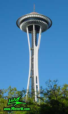 Photo of the Space Needle in Seattle taken in summer 2002  The Space Needle in Seattle